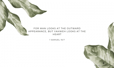 1 Samuel 16:7 – FREE Desktop Wallpaper