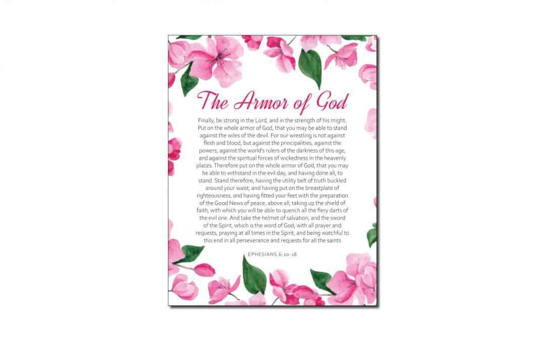 Armor of God (Printable Wall Art)