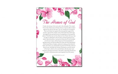 Armor of God (Printable Wall Art)