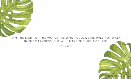 John 8:12 – FREE Desktop Wallpaper