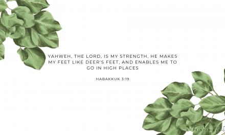 Habakkuk 3:19 – FREE Desktop Wallpaper