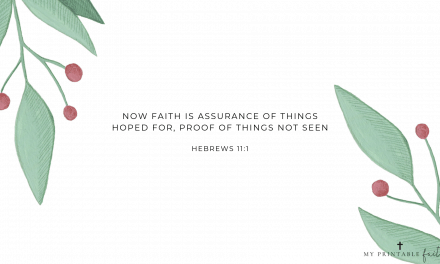 Hebrews 11:1 FREE Desktop Wallpaper