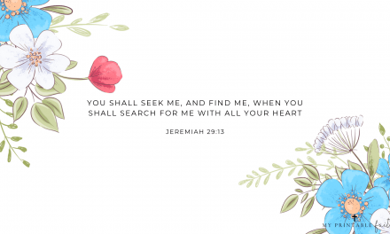 Jeremiah 29:13 – FREE Desktop Wallpaper