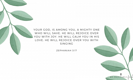 Zephaniah 3:17 – FREE Desktop Wallpaper