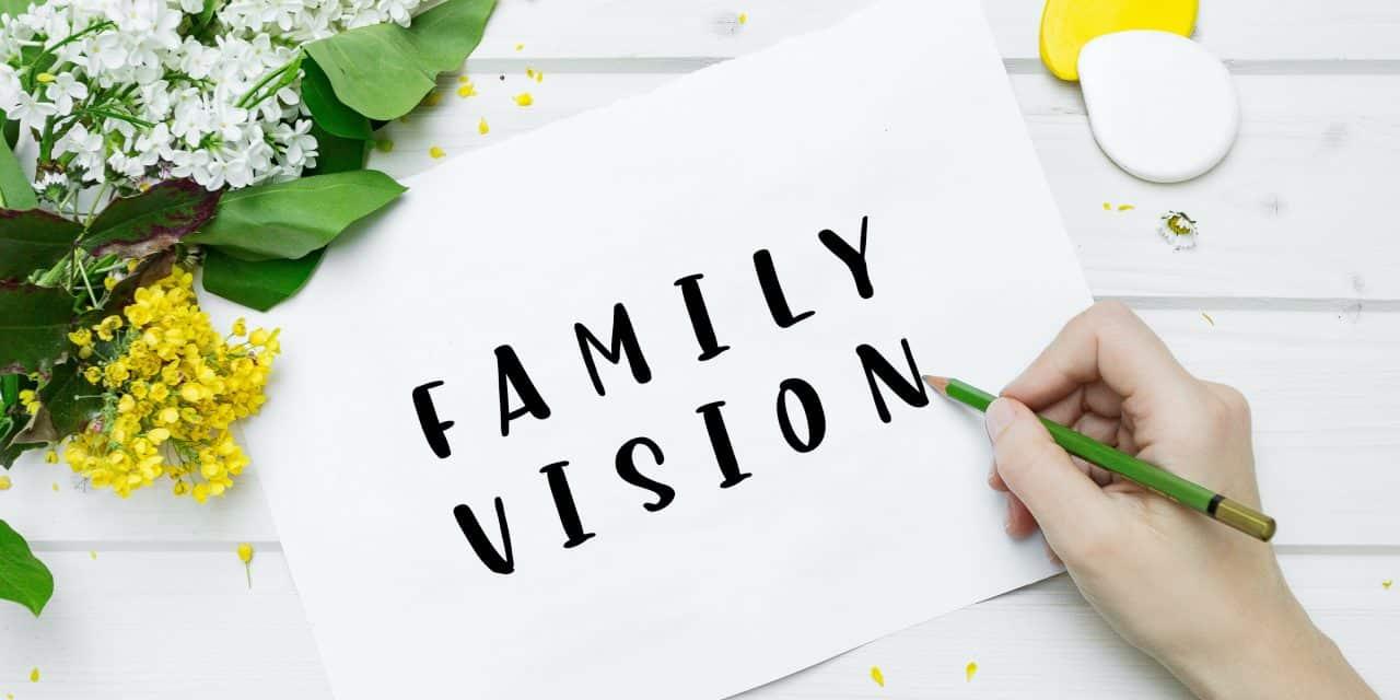 How to Create a Faith Family Vision Board