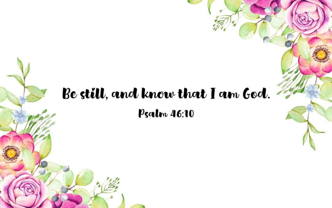 Proverbs 46:10 – FREE Desktop Wallpaper