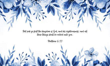 Matthew 6:33 – FREE Desktop Wallpaper