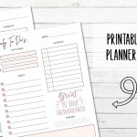 Printable Daily Planner Pages with Scriptures