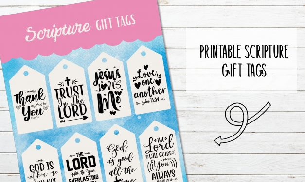 Scripture Gift Tags
