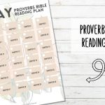 31 Day Bible Reading Plan – Book of Proverbs