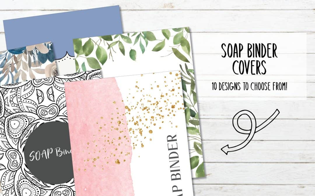 10 Printable SOAP Bible Study Binder Covers