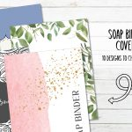 10 Printable SOAP Bible Study Binder Covers