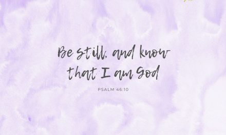Be Still – Desktop Wallpaper