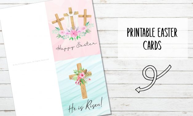 Printable Easter Cards